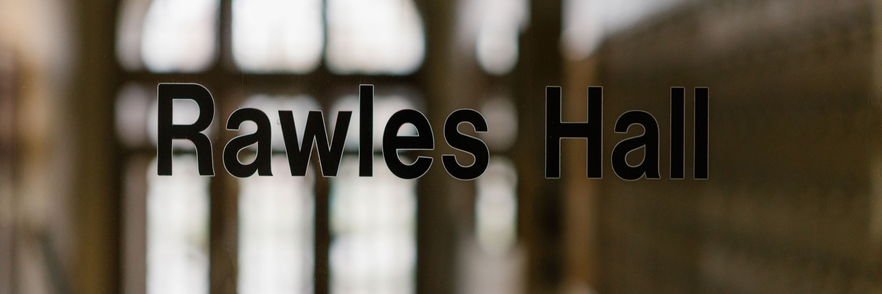 Rawles Hall title card